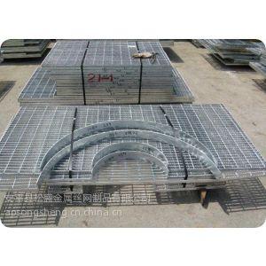供应包头热镀锌钢格板/防腐性能好抗氧化/松盛格栅板厂