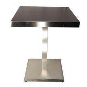 供应不锈钢包边餐桌,不锈钢封边餐台,西餐厅桌椅
