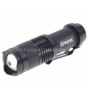 供应SIPIK SK68 CREE Q3- WC120流明凸透镜LED手电筒