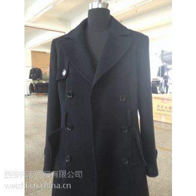 大衣 西安伟志伟志服装公司 量体定制商务休闲男女装棉大衣、羊毛大绒衣颜色丰富、款式简洁大方