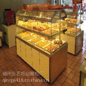 福州面包展示柜专业制作 面包店展柜制作价格便宜