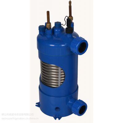供应1~5匹泳池机钛管换热器 WN-R3P