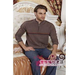 供应专业量身定做羊绒衫订做男式羊绒衫