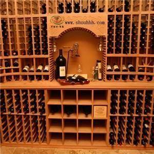 供应上海实木酒架。厂家直销北美红橡纯手工制作