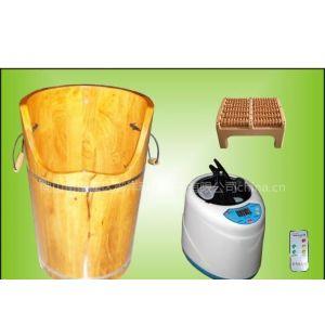 供应御沣泰国橡木不绣钢内煲中药蒸汽熏蒸桶