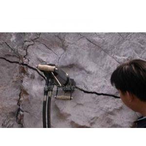 供应开采花岗石机器博亚牌BY90液压岩石分裂机 静态安全石料破碎分裂速度快效率高成本低