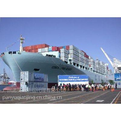 供应广州至加拿大国际海运运输服务