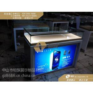 供应三星手机柜现货,三星木质柜台定制尺寸