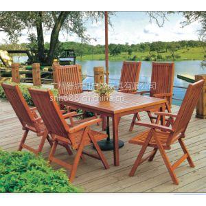 供应广东家具厂直销防腐木碳化木桌椅/舒纳和户外桌椅碳化木/ 实木椅子