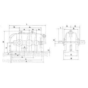 供应QJS-D400中硬齿面齿轮减速机,起重机专用减速机