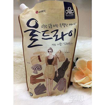 原装进口韩国 LG 高档防变形洗衣液(毛丝绸棉精致衣物)