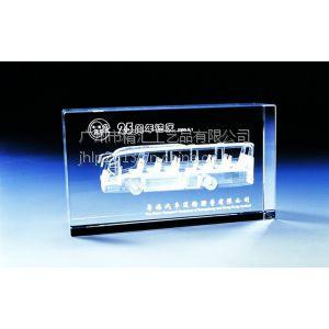 供应公交公司十五周年庆典纪念品,广州水晶礼品摆件,系统升级纪念品,广州水晶摆件礼品,