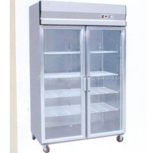 供应双门展示柜  澳菱厨具  厨房设备