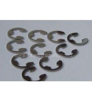 供应不锈钢E形卡簧 SUS304E形卡簧 日本不锈钢E形卡簧 JIS规格E形扣环