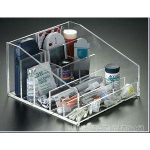 供应透明收纳盒,有机玻璃化妆品盒,亚克力分类展示盒