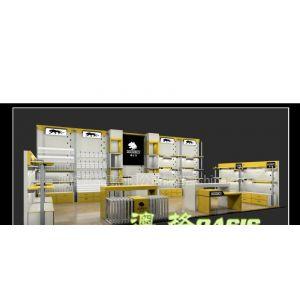 供应皮具包包展示柜制作,皮具包包店设计装修
