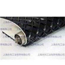供应黑色方格砂光机皮带,预压机输送带,小车带