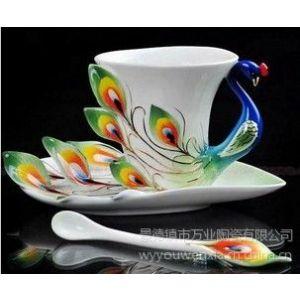 供应景德镇咖啡杯子生产工厂,高档小家庭咖啡具,咖啡馆咖啡具供应厂家,定做陶瓷咖啡具