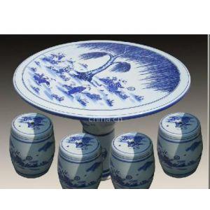 供应青花瓷桌子,景德镇户外瓷桌批发,青花瓷桌凳批发,陶瓷桌子