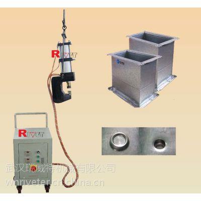 リベット締め機を使用せずにガス液圧を吊り下げる,瑞威特钳式无铆钉铆接机