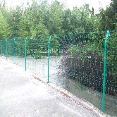 燊喆供应双边丝护栏网 锌钢护栏 加工体育场球场围网市政护栏网