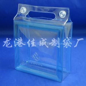 供应慈溪PVC礼品袋PVC文具袋PVC纽扣袋加工合作厂家