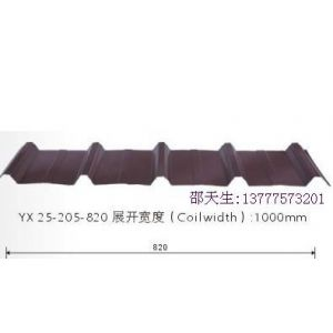 供应彩钢瓦YX25-205-820/1025杭州萧山厂家彩钢瓦