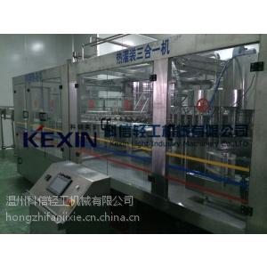 供应全自动易拉罐灌装机(三合一)-河南灌装封口机郑州展厅现货