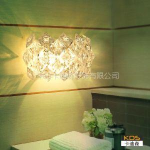 供应中山现代简约灯饰厂家 卡迪森个性客厅餐厅卧室床头过道壁灯具