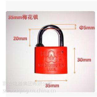 供应表箱挂锁.防伪铅封.一次性钢丝锁.电表箱锁