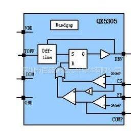 供应供应QX5305高亮度LED灯驱动控制IC