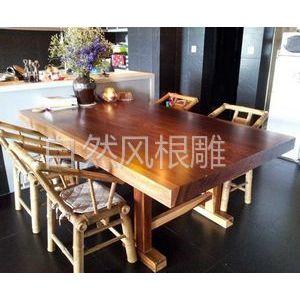 供应非洲花梨木家具价格 非洲菠萝格 实木书桌 老板台 画案 会议桌 餐厅