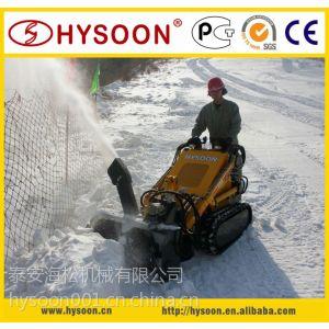 供应HY380多功能小型钻孔、扫雪滑移装载机
