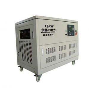 供应大型电启动汽油发电机 多燃料发电机 家用静音式汽油发电机