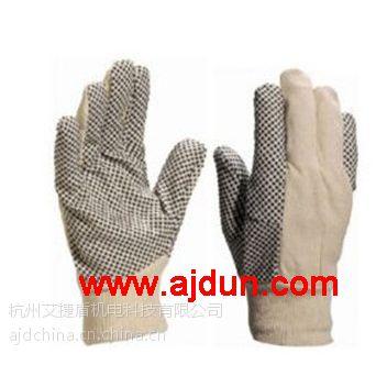 代尔塔208007 PVC点塑棉质手套