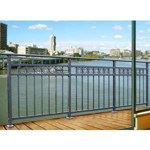 供应阳台栏杆/锌钢护栏的款式 港口码头防护栏 新式马路护栏