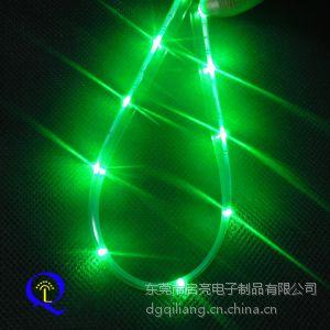 供应厂家定制 0805软性灯带灯条 LED发光贴片式防水 高档时尚包包红酒装饰LED灯带