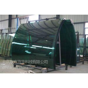 供应北京弯钢夹胶玻璃 弯钢中空玻璃