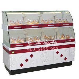 供应弧形面包展示柜,双层面包柜价格
