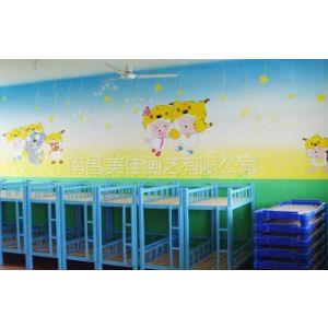 供应九江星子彭泽 德安修水 武宁幼儿园彩绘手绘墙绘壁画公司供应!