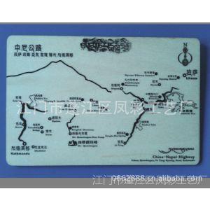供应西藏地图明信片 厦门景区明信片 台湾旅游区明信片