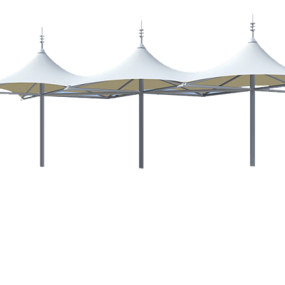 供应陕西收费站骨架式膜结构景观建筑