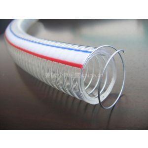 供PVC透明8-250mm钢丝软管塑料螺旋钢丝软管