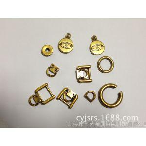 供应五金箱包扣、皮带扣、勾扣、古金色勾扣 ,咖啡勾扣加工