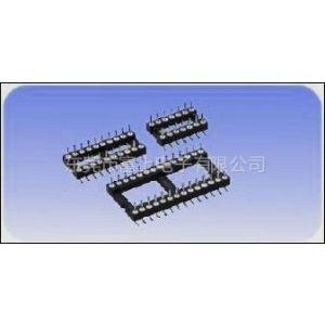 供应圆针插座|圆PIN排针座|圆孔IC公座|圆排针插座|1.27/1.778/2.0/2.54圆排针座