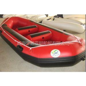 供应威海帝诺亚舸船艇供应多种水上娱乐皮划艇4人漂流船 保修三年