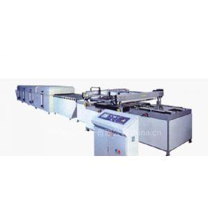供应全自动UV木板丝印生产线(高配)