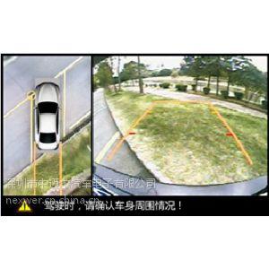 供应奔驰C级专用全景泊车辅助带行车记录 无缝拼接车载四路摄像头