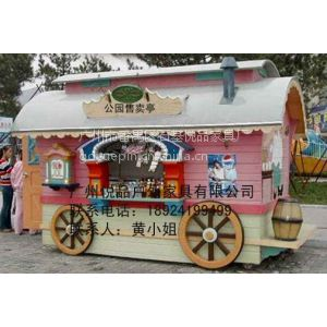 供应重庆儿童乐园售卖车订做 成都广场美食售货车