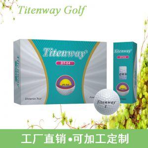 供应深圳银兔高尔夫用品Titenway4层高尔夫比赛球